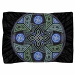 Celtic UFO Mandala Pillow Sham