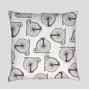 Old Time Bicycle Pattern Master Pillow