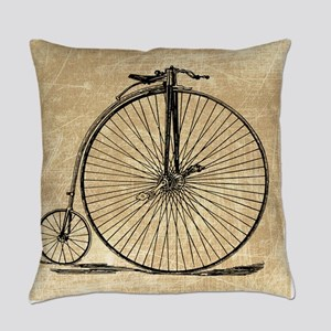 Vintage Penny Farthing Bicycle Master Pillow