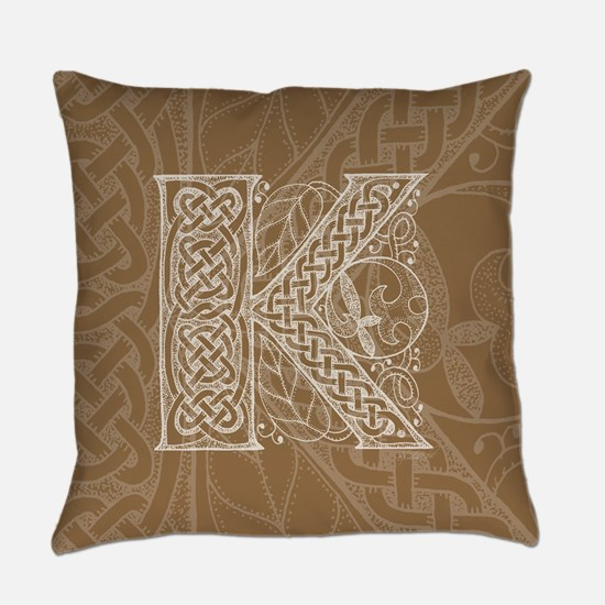 Celtic Letter K Master Pillow