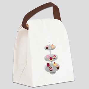 Tiered Dessert Trays Canvas Lunch Bag