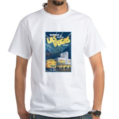 Las Vegas White T-Shirt