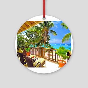 Tropical Delight Ornament (Round)