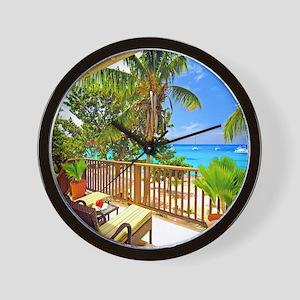 Tropical Delight Wall Clock