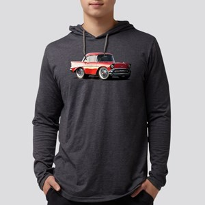 BabyAmericanMuscleCar_57BelR_Xmas_Red Long Sleeve