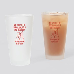 You Are Be-Au-Ti-Ful Drinking Glass