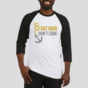 Boat Hair Baseball Jersey