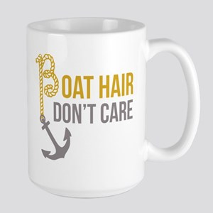 Boat Hair Large Mug