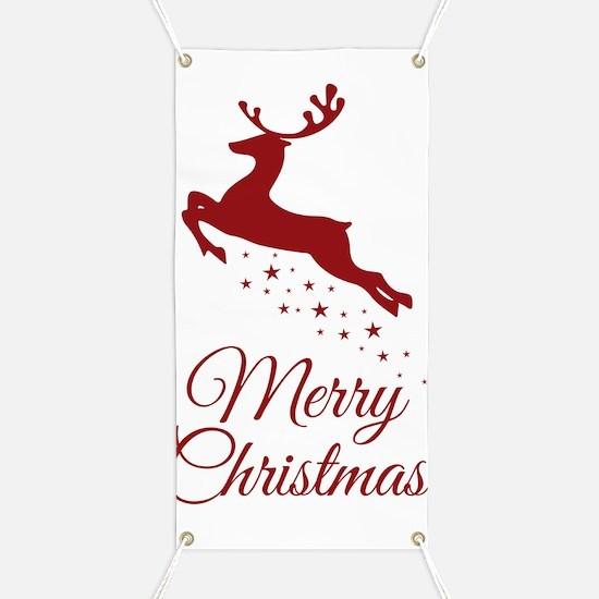 Unique Merry christmas Banner