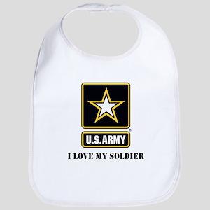 Personalize Army Bib