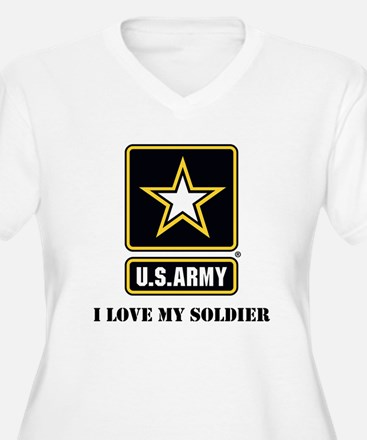 Personalize Army Plus Size T-Shirt