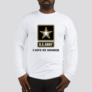 Personalize Army Long Sleeve T-Shirt