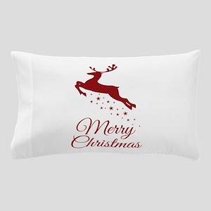 Reindeer Christmas Magic Pillow Case