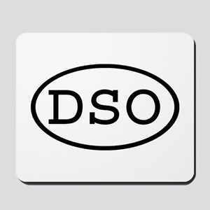DSO Oval Mousepad