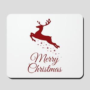 Reindeer Christmas Magic Mousepad
