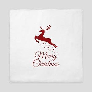 Reindeer Christmas Magic Queen Duvet