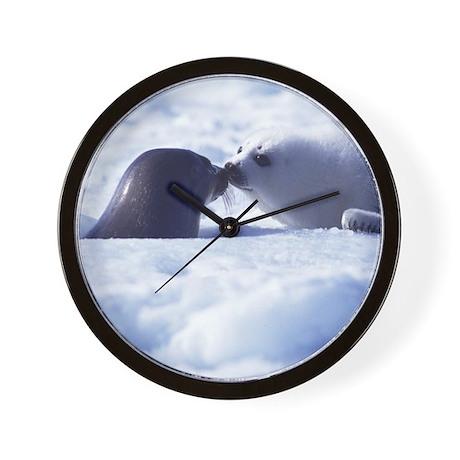 Harp Seal Wall Clock