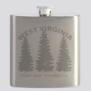 West Virginia Flask