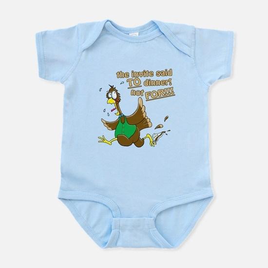 Turkey Dinner! Infant Bodysuit