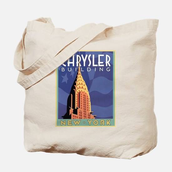 NY, Chrysler Building Tote Bag