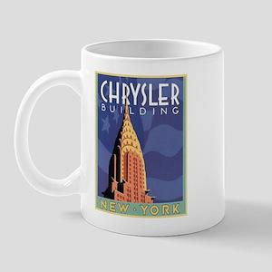 NY, Chrysler Building Mug