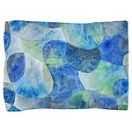 Aquatic Abstract Pillow Sham