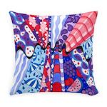 Vintage Fabrics Abstract Master Pillow