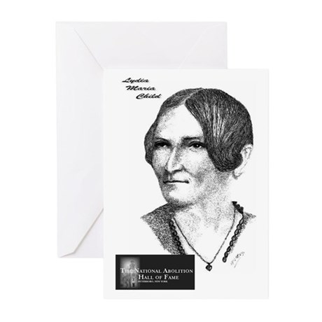 Lydia Maria Child Greeting Cards (Pk of 10)