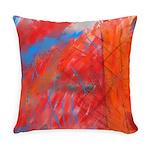 Crazy Vibrance Abstract Master Pillow