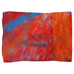 Crazy Vibrance Abstract Pillow Sham