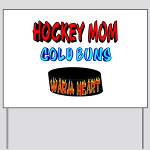 HOCKEY MOM Yard Sign