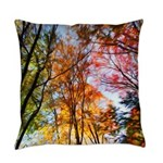 Autumns Trees Painting Master Pillow