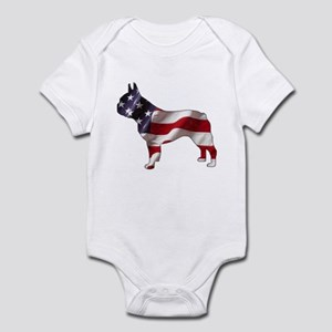 American Frenchie Infant Creeper