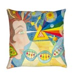 Creation Myth Abstract Master Pillow