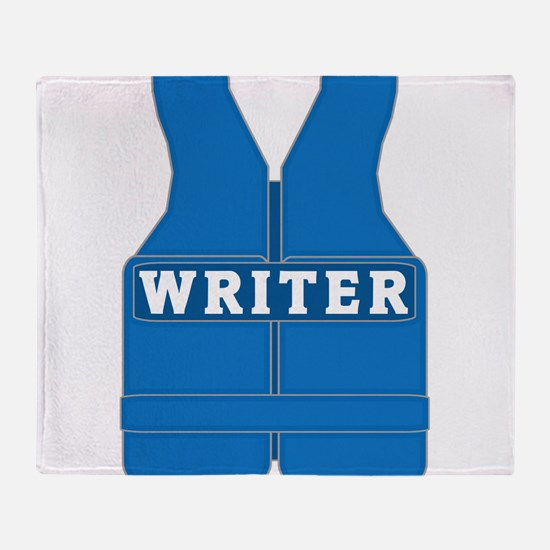 Richard Castle WRITER Throw Blanket