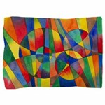 Color Shards Abstract Pillow Sham