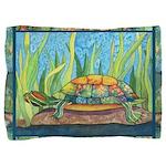 Tie-Dye Turtle Pillow Sham