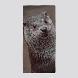 Sweet young Otter Beach Towel
