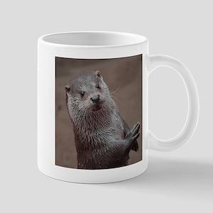 Sweet young Otter Mugs