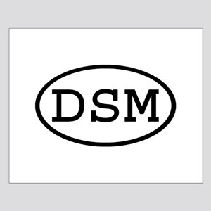 DSM Oval Small Poster
