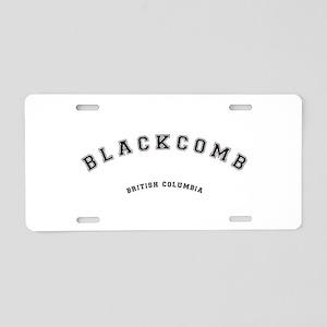 Blackcomb British Columbia Aluminum License Plate