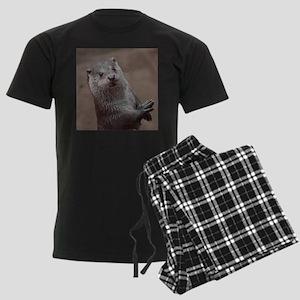 Sweet young Otter Men's Dark Pajamas