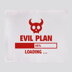 Evil Plan Loading Stadium Blanket