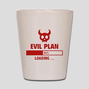 Evil Plan Loading Shot Glass