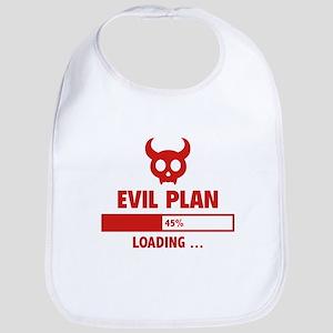 Evil Plan Loading Bib