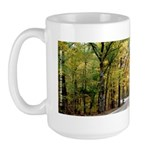 Morning Sun Road 113 Large Coffee Mug