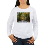 Morning Sun Road 113 Women's Long Sleeve T-Shirt