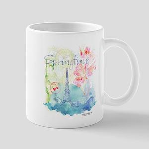 Paris Springtime Mugs
