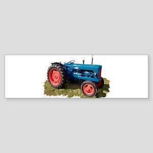 Fordson Vintage Tractor Bumper Sticker
