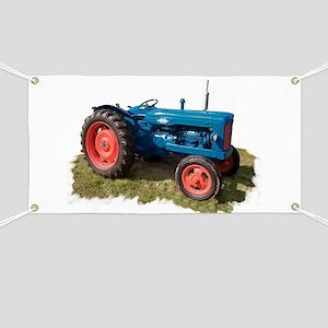 Fordson Vintage Tractor Banner